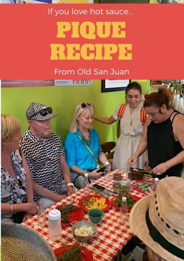 Pique Recipe – Puerto Rico's Kitchen Table Staple
