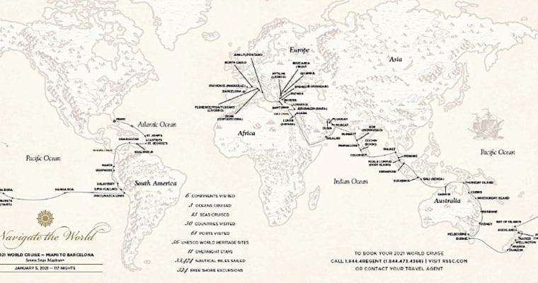 Regent Seven Seas World Cruise for 2021