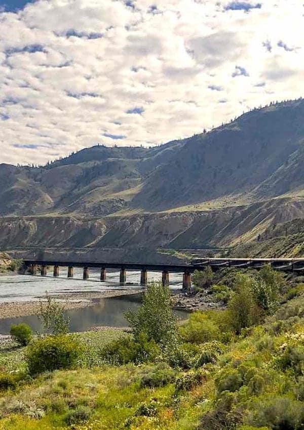 Luxury train Rocky Mountaineer in Canada