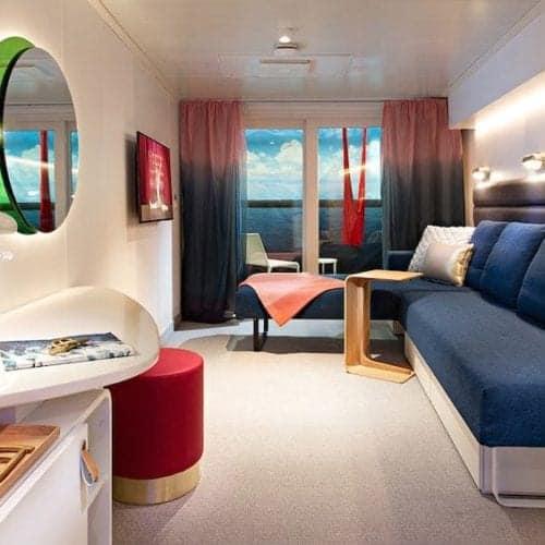 Virgin Voyages Scarlet Lady Sea Cabin