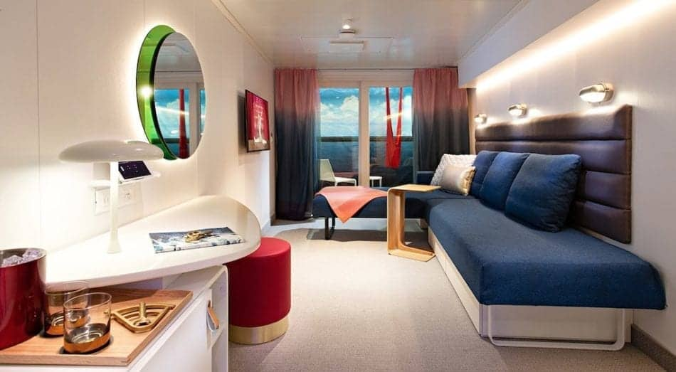 Virgin Voyages Reveals Cruise Ship Cabins