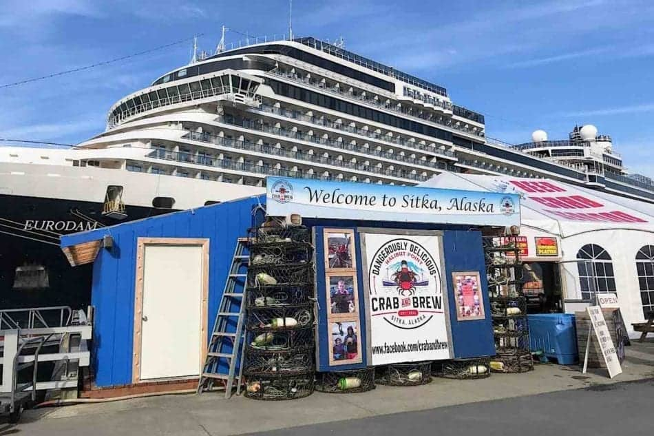cruise ship dock Sitka Alaska
