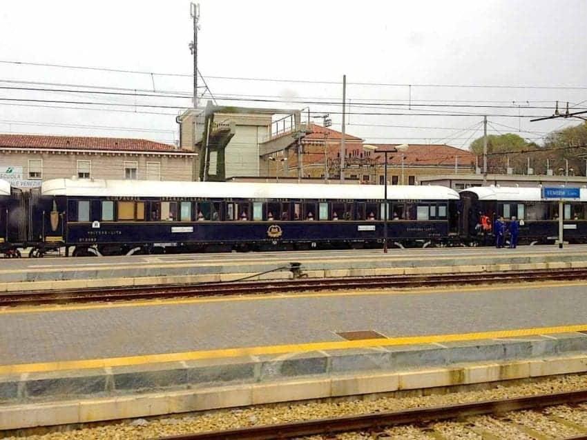 Venice Simplon Orient Express in Venice Italy