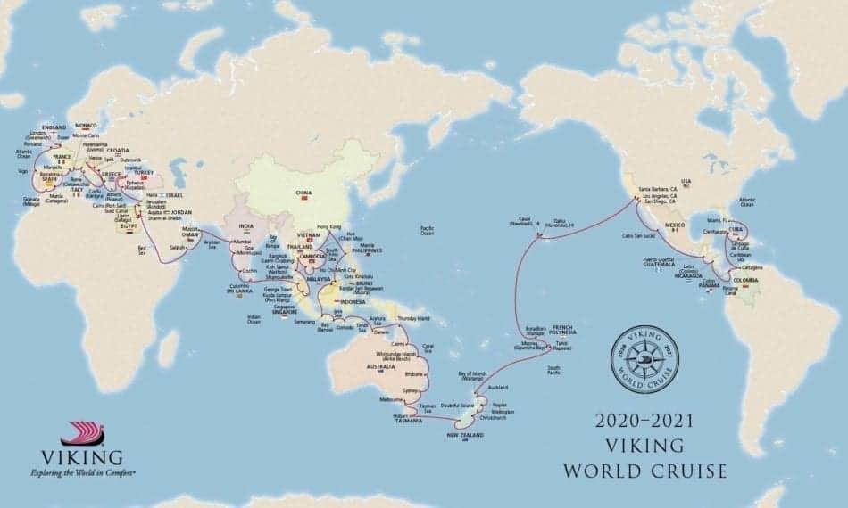 Viking Cruises Announces New 161-Day World Cruise