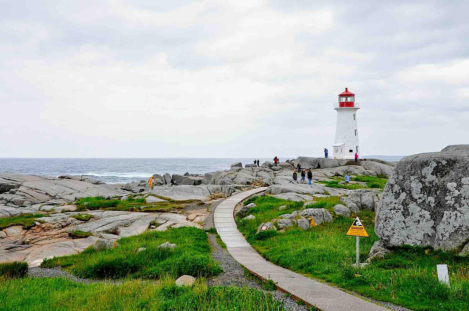 Peggy's Cove Lighthouse near Halifax, Nova Scotia
