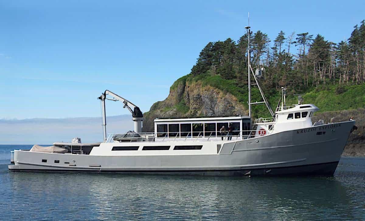 Alaskan Dream Cruises Kruzof Explorer