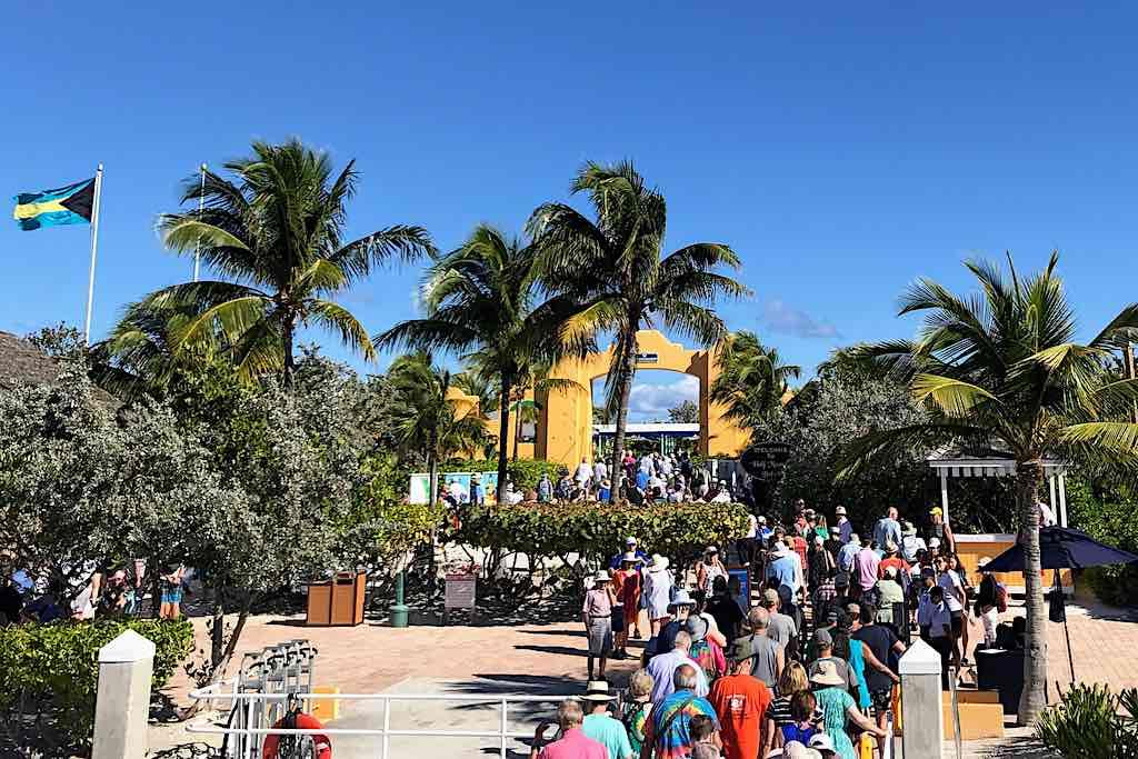 Half Moon Cay Entrance