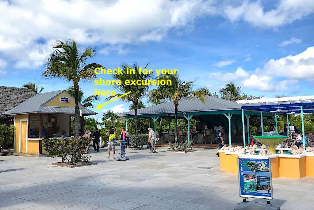 Half Moon Cay Information Center