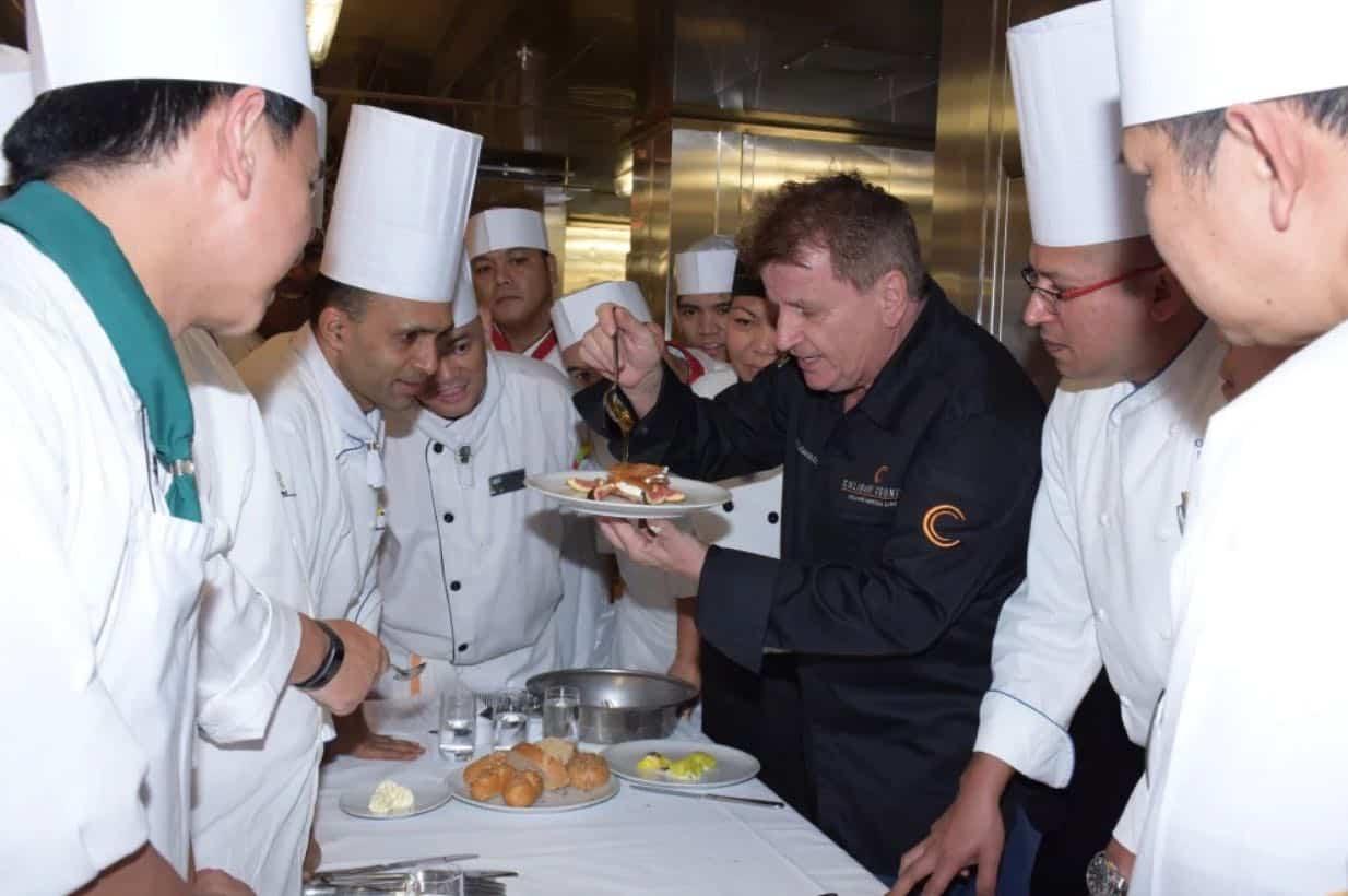 Rudi Sodamin Holland America Culinary cruises