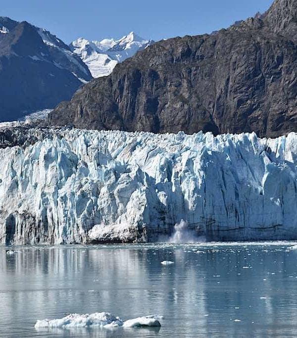 Marjerie Glacier Alaska Inside Passage Cruise