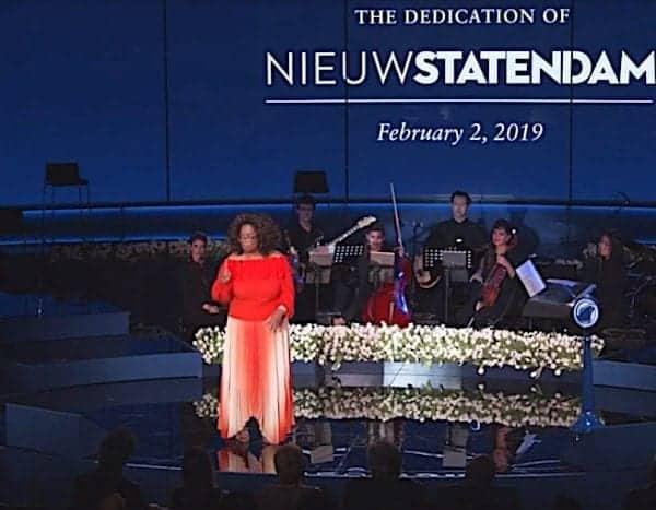 Oprah Winfrey Christens Nieuw Statendam