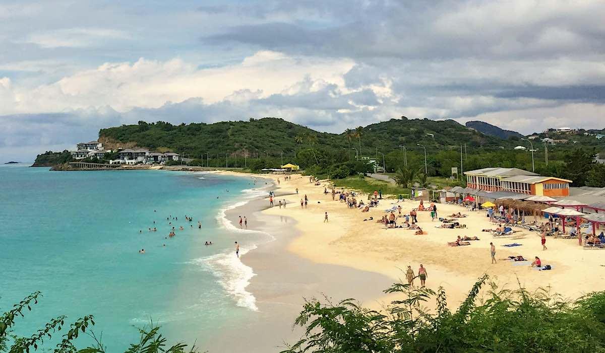 Beachfront in Antigua