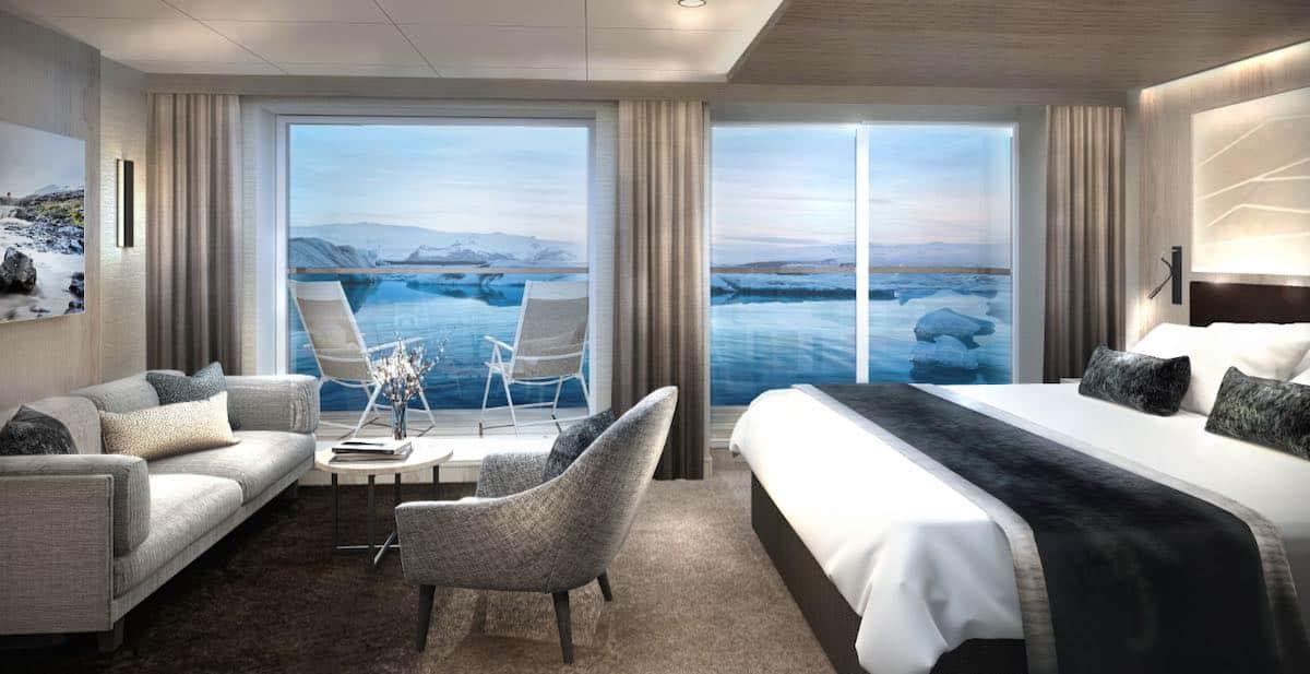 Hurtigruten Finnmarken Suite