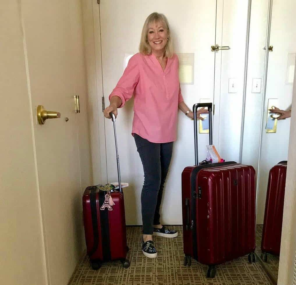 Sherry is leaving the hotel for another solo female travel adventure.