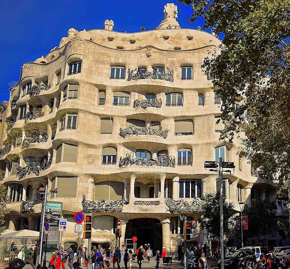 Barcelona Gaudi Casa Mila residence