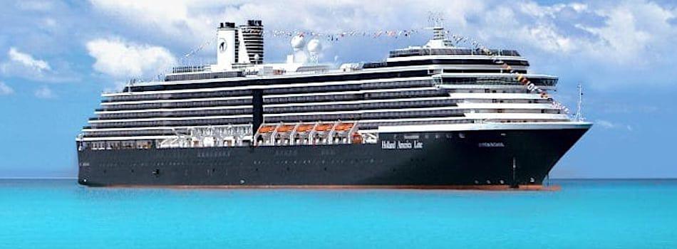Holland America Zuiderdam at Sea