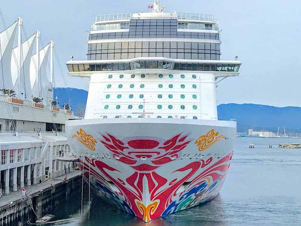 Norwegian Joy at Vancouver Canada Alaska Cruises