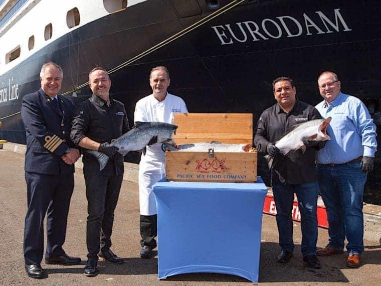 Holland America Copper River Salmon Delivery