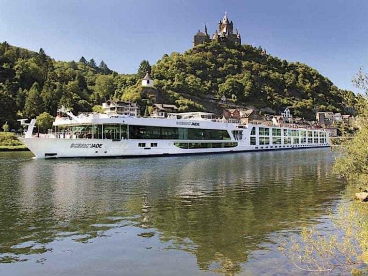 Scenic River Cruise Ship Scenic Jade on