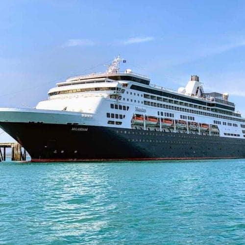 Holland America Maasdam docked in Homer Alaska