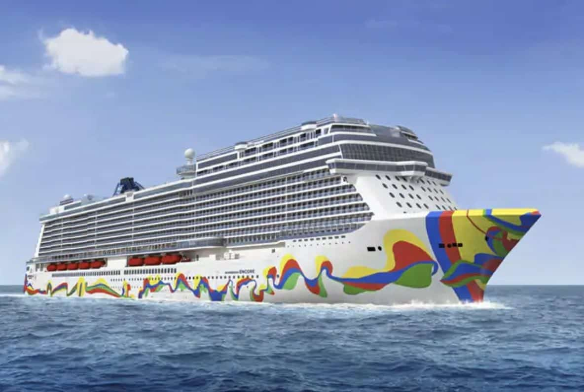 Norwegian Encore Hull Design