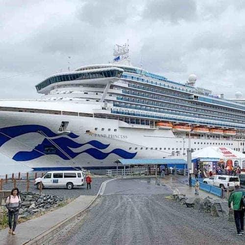 Grand Princess cruises to Sitka Alaska