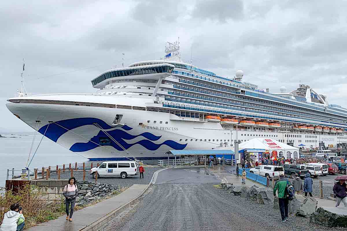Grand Princess cruises to Sitka Alaska