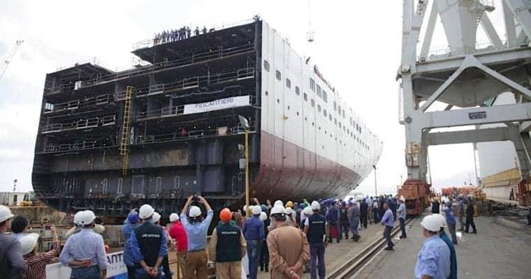 Holland America Celebrates Major Milestone for New Ship
