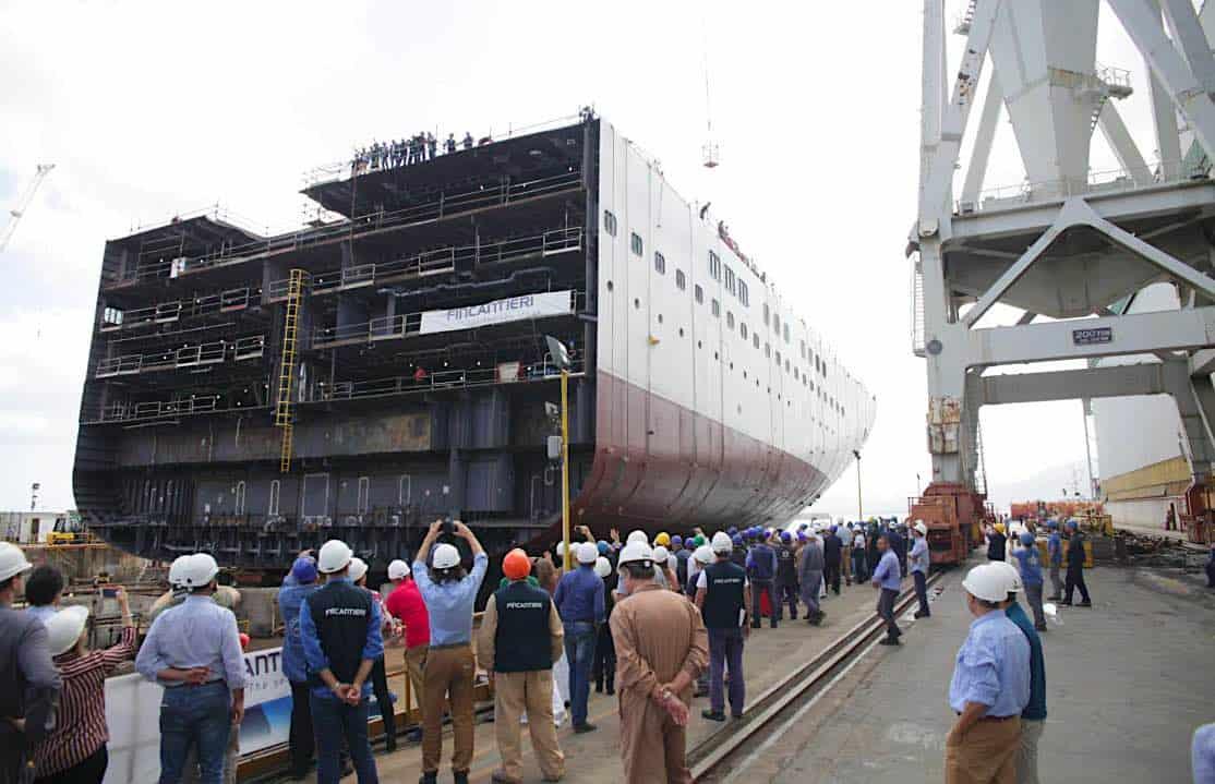 Holland America Ryndam Hull Block Launch