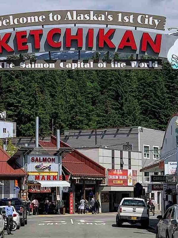 Ketchikan Alaska Welcome Sign