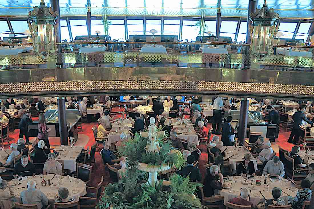 Holland America Maasdam Main Dining Room