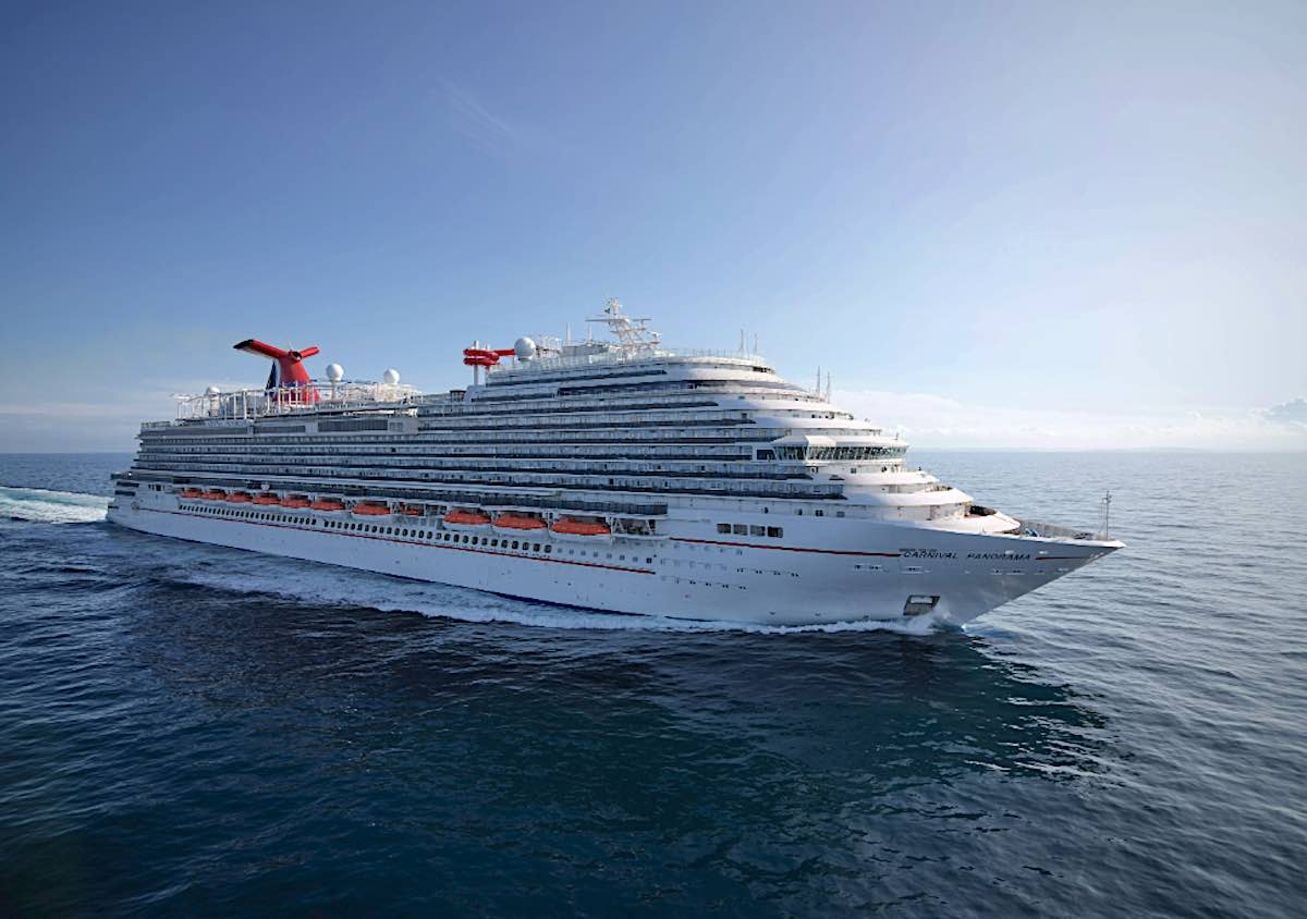 Carnival Cruise Line's New Panorama On the Move to California
