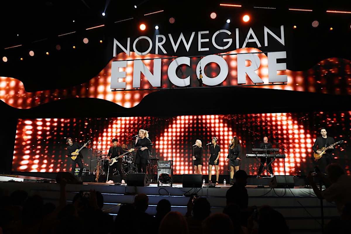 Norwegian Encore Godmother Kelly Clarkson