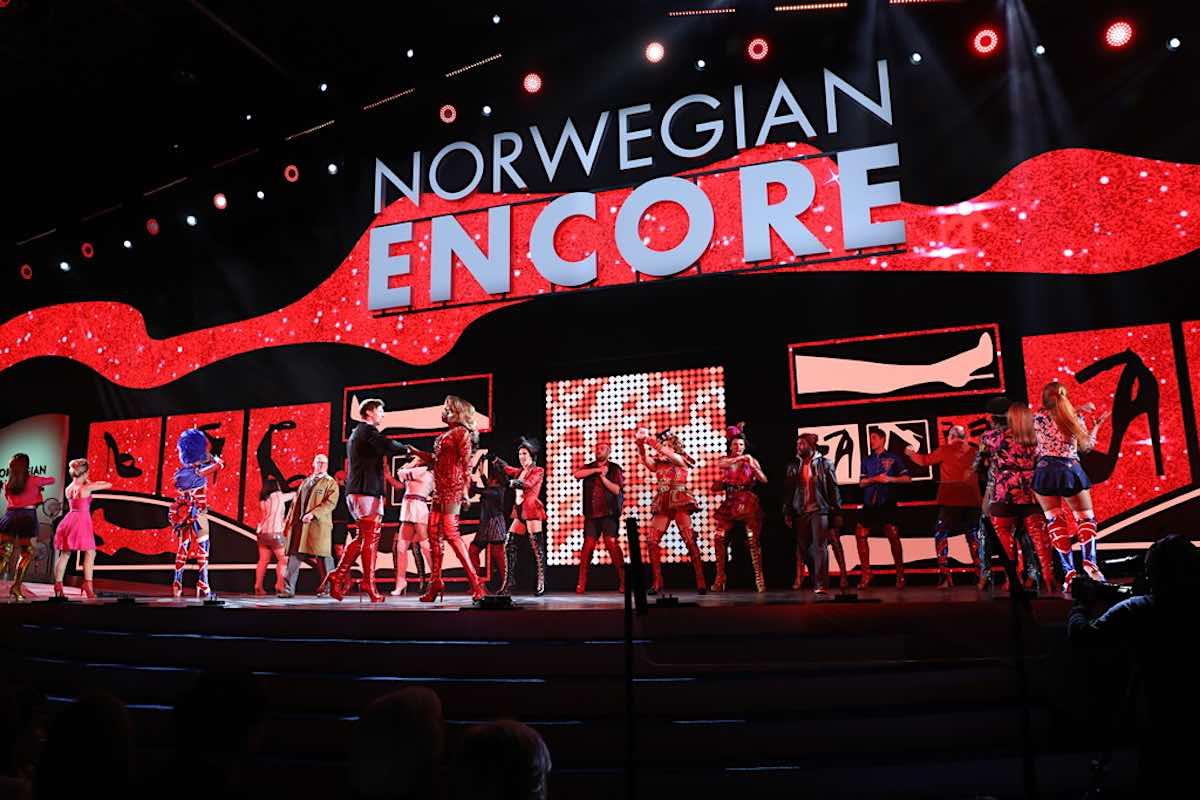 Norwegian Encore Kinky Boots
