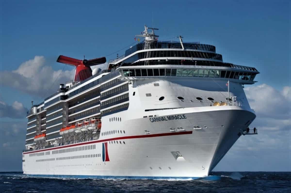 Carnival Cruise Line Begins Winter Cruises from San Diego