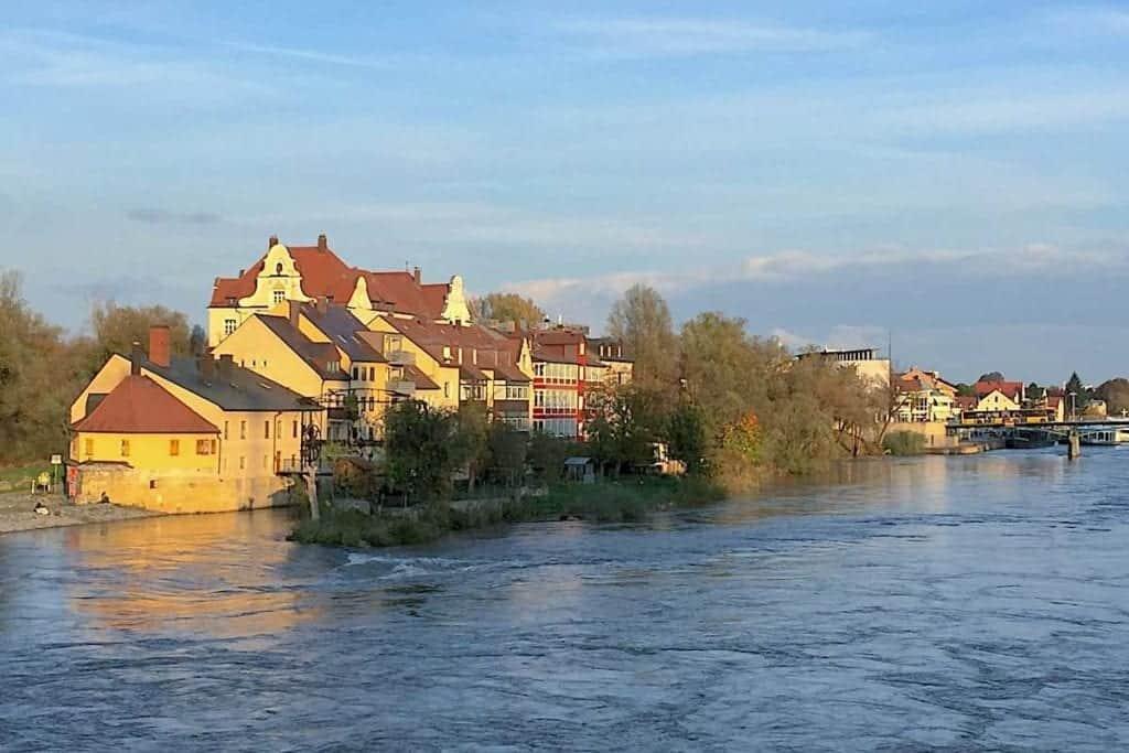 Flood waters in Germany.