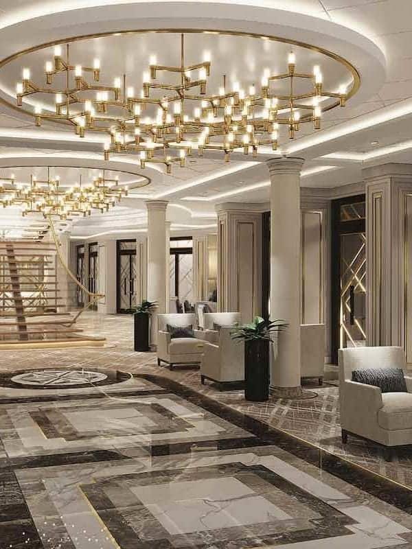 Regent Seven Seas Splendor Atrium