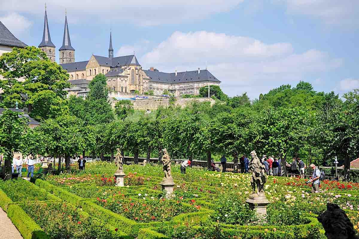 New Residenz Rose Garden Bamberg