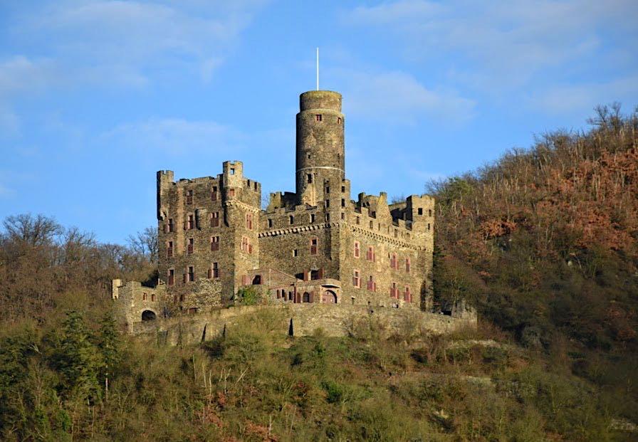 Rheinfels Castle in St. Goar Germany