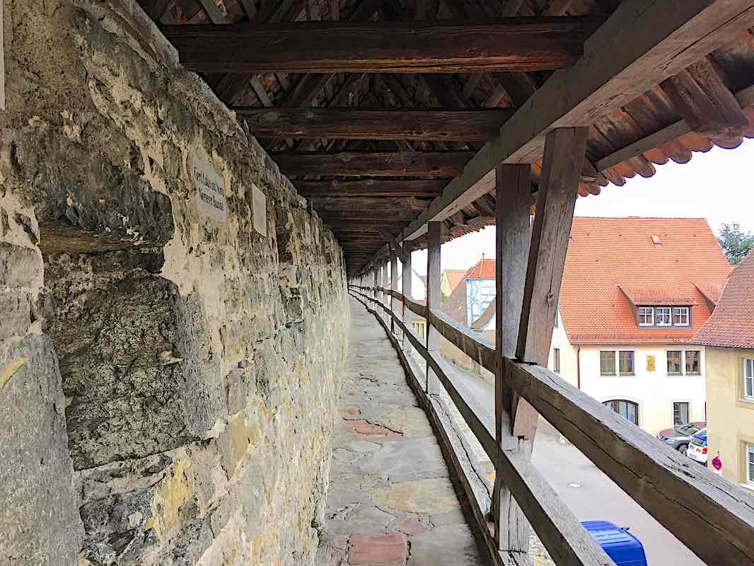 Rothenburg ob der Tauber Wall