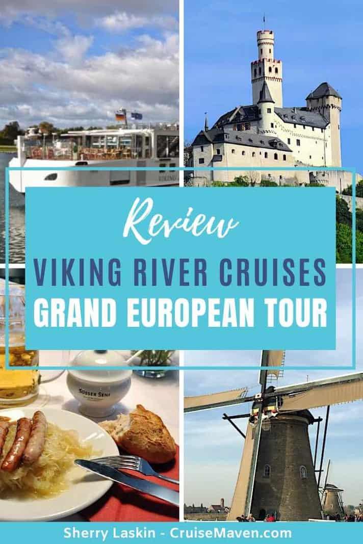 Pinterest Pin for Viking River Cruises Grand European Tour