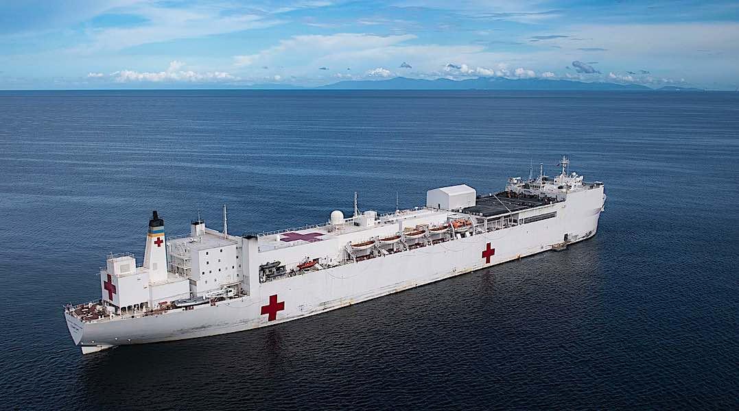 USNS Comfort US Navy Hospital Ship