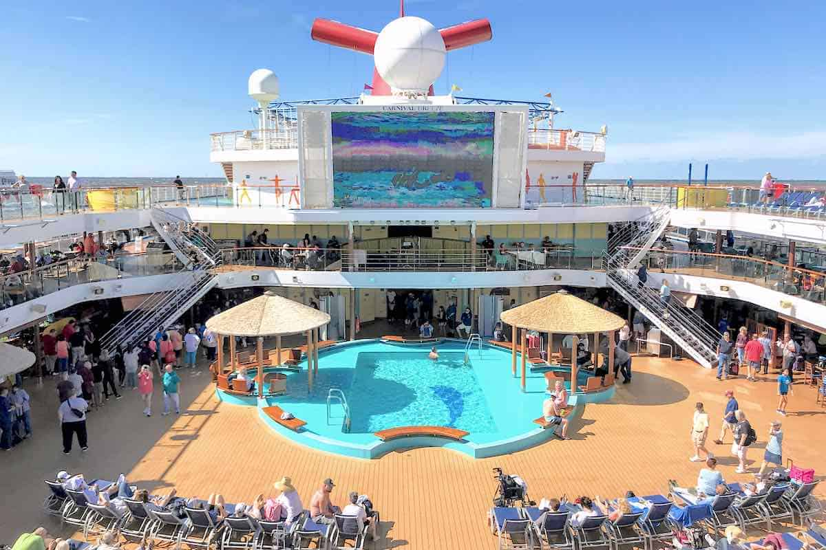 Carnival Cruise Line Cancels Carnival Breeze. No relaxing on the Pool Deck for a while.