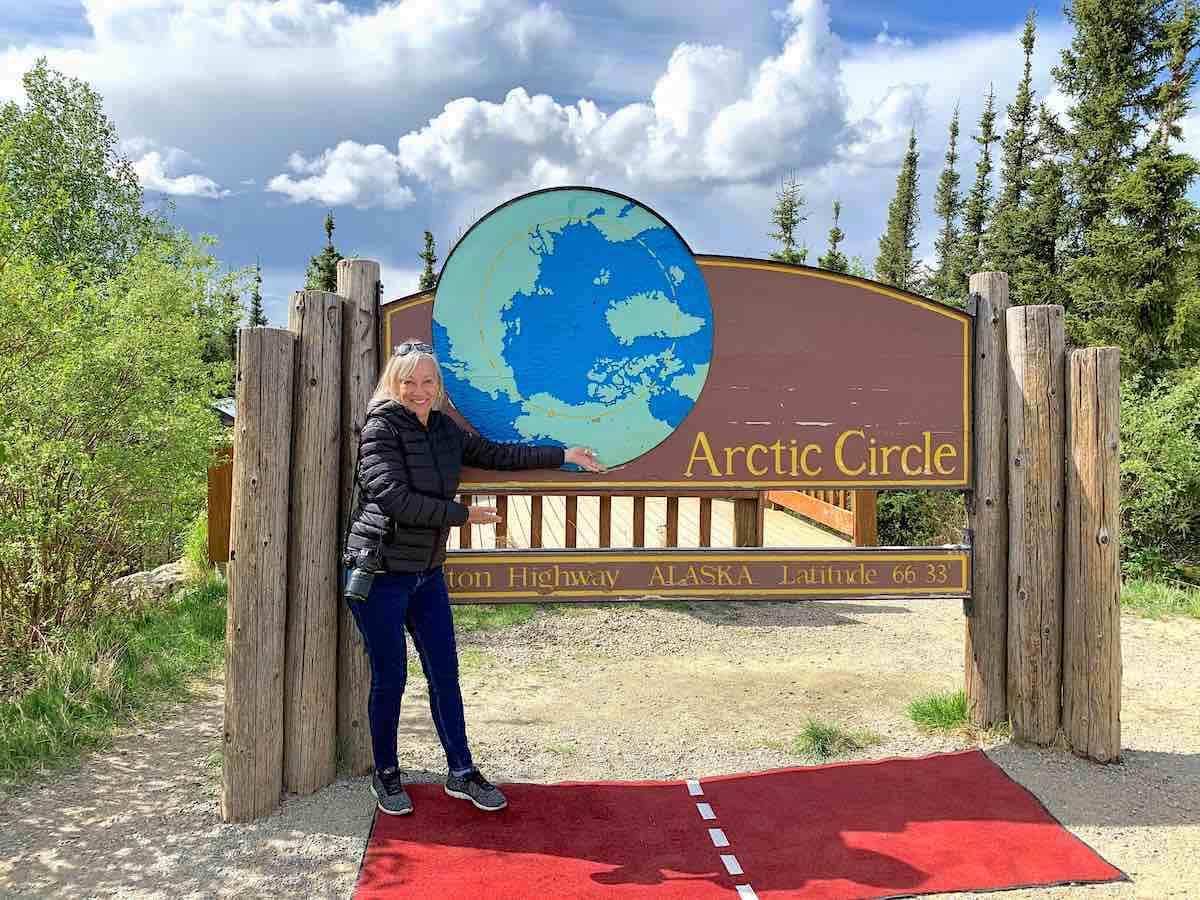 Follow Alaska travel restrictions and visit the Arctic Circle