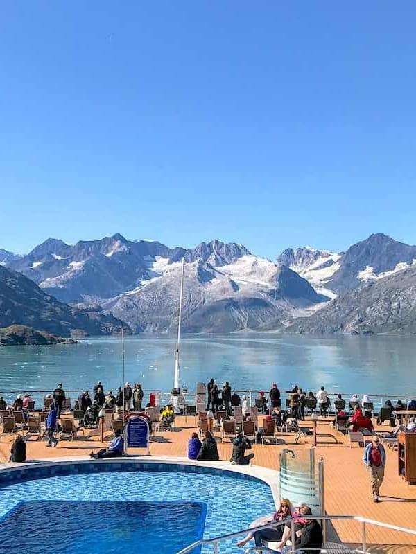 Holland America Eurodam Glacier cruise