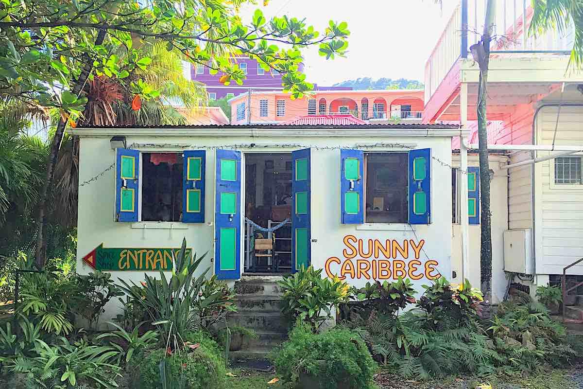 Sunny Caribee spice shop in tortola