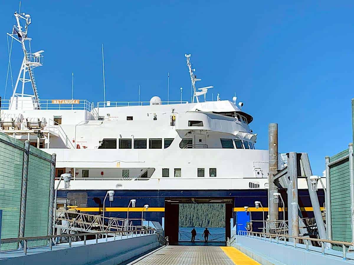 Matanuska at Sitka Ferry Terminal