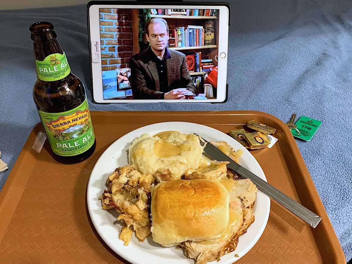 Turkey dinner aboard Alaska ferry Matanuska