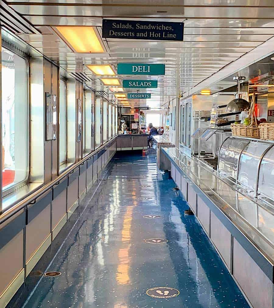 Matanuska Cafeteria Line