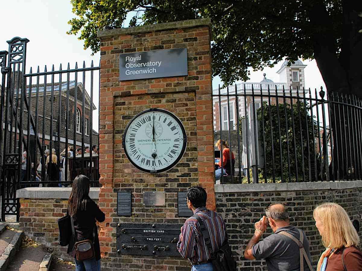 Greenwich England World Clock